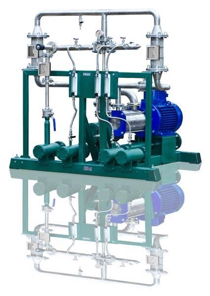 Gasoline, diesel fuel blending system USB-2/20/4