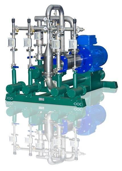 Gasoline diesel fuel blending system USB-2/60/5