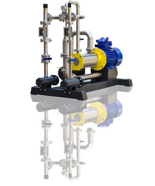 Gasoline, diesel fuel blending system USB-18/3