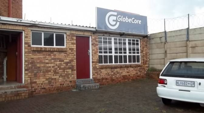GlobeCore: new service center in South Africa